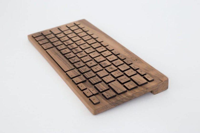 Orée clavier en bois