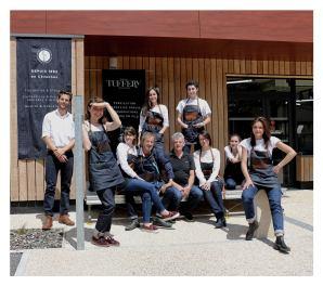L'équipe Tuffery à Florac (Lozère)