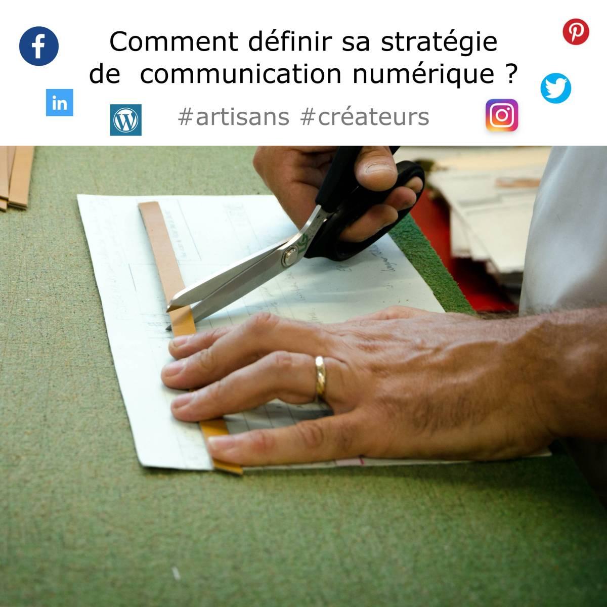 artisan créateur comment définir sa stratégie de communication